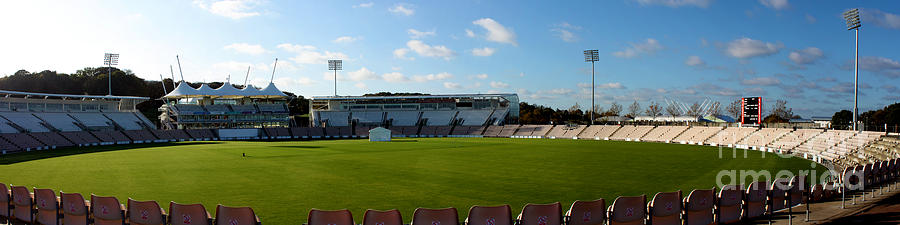 Hampshire County Cricket Ground Photograph  - Hampshire County Cricket Ground Fine Art Print