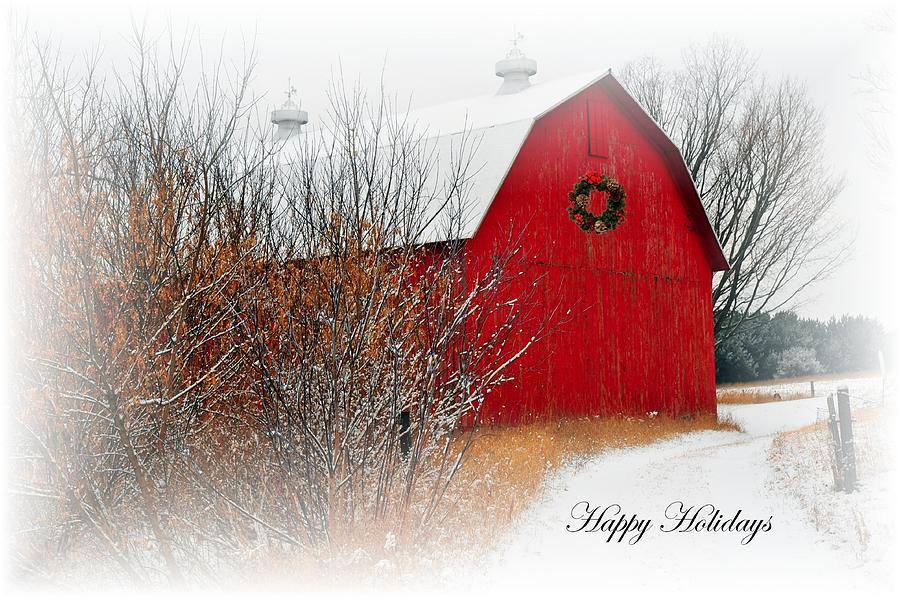 Happy Holidays Photograph  - Happy Holidays Fine Art Print