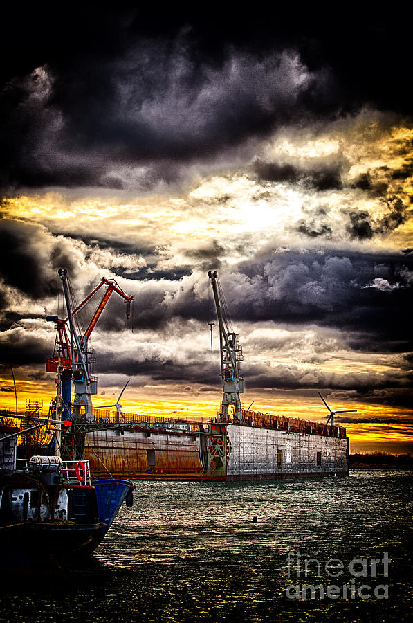 Harbor Photograph - Harbor by Miso Jovicic
