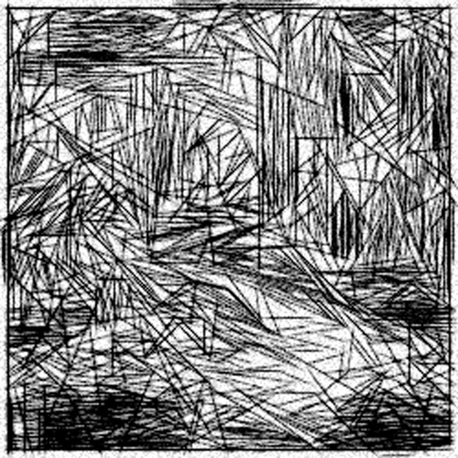 Drawing Lines Is Hard : Hard line sketch drawing by jonathan harnisch
