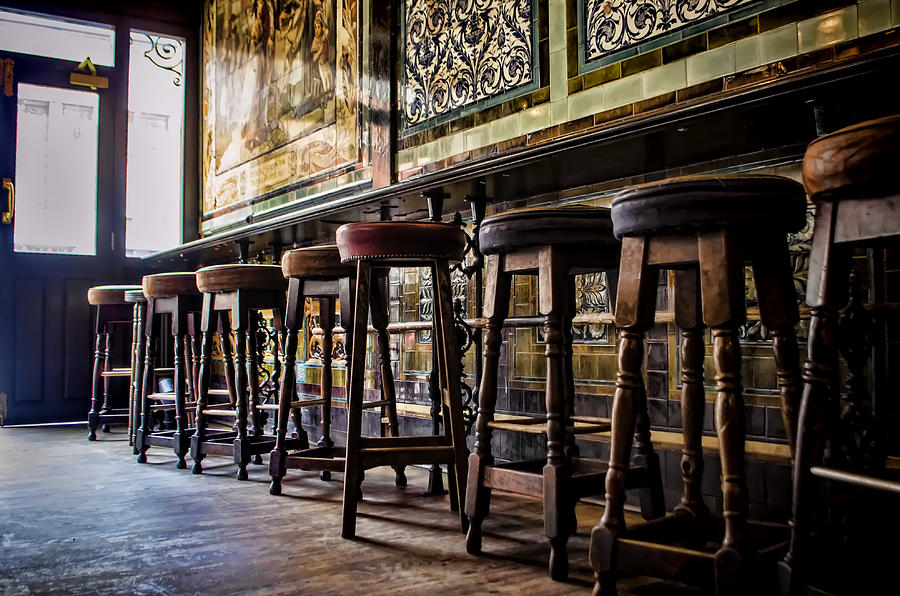 Barstools Photograph - Have A Seat by Heather Applegate