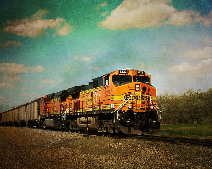 Hear The Train A Coming Photograph