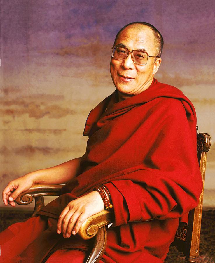H.h. Dalai Lama Photograph