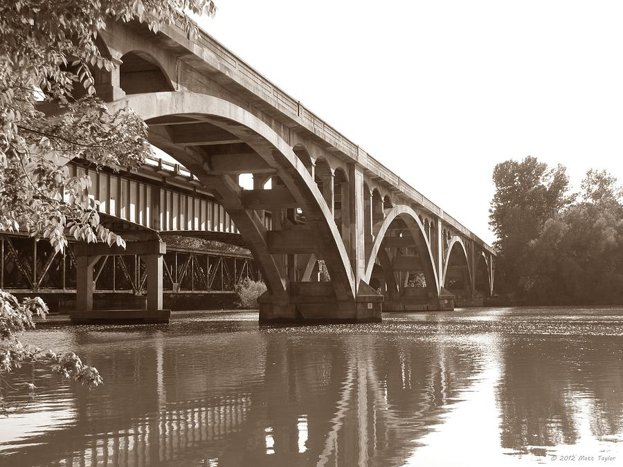 Historic Wil-cox Bridge Photograph