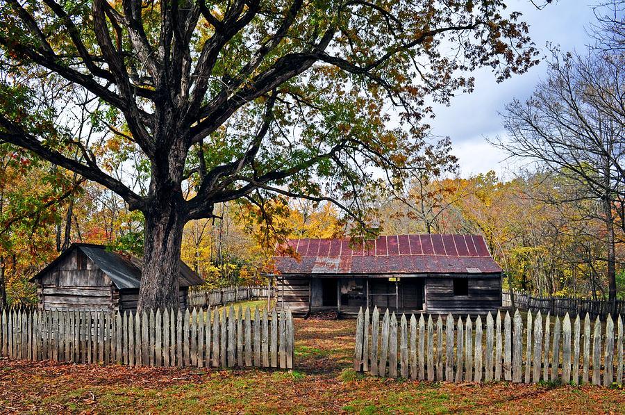 Homestead On The Buffalo Photograph