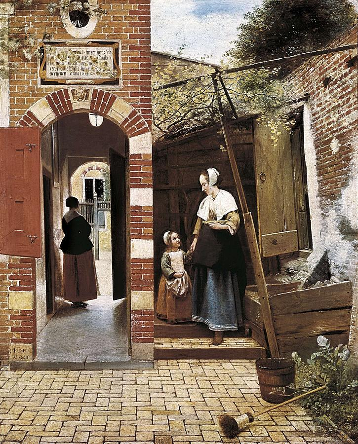 Hoock, Pieter Cornelisz 1629-1684. The Photograph
