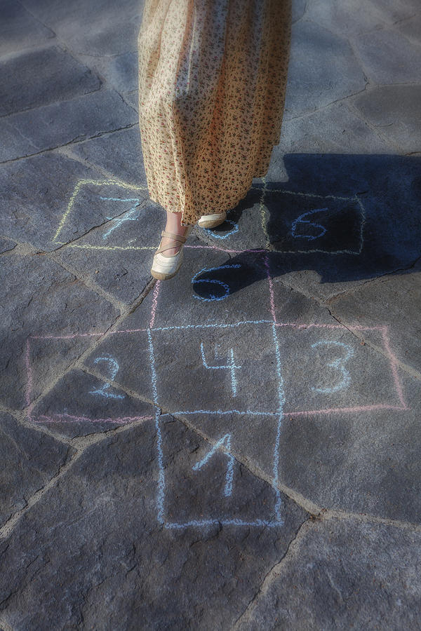 Hopscotch Photograph  - Hopscotch Fine Art Print