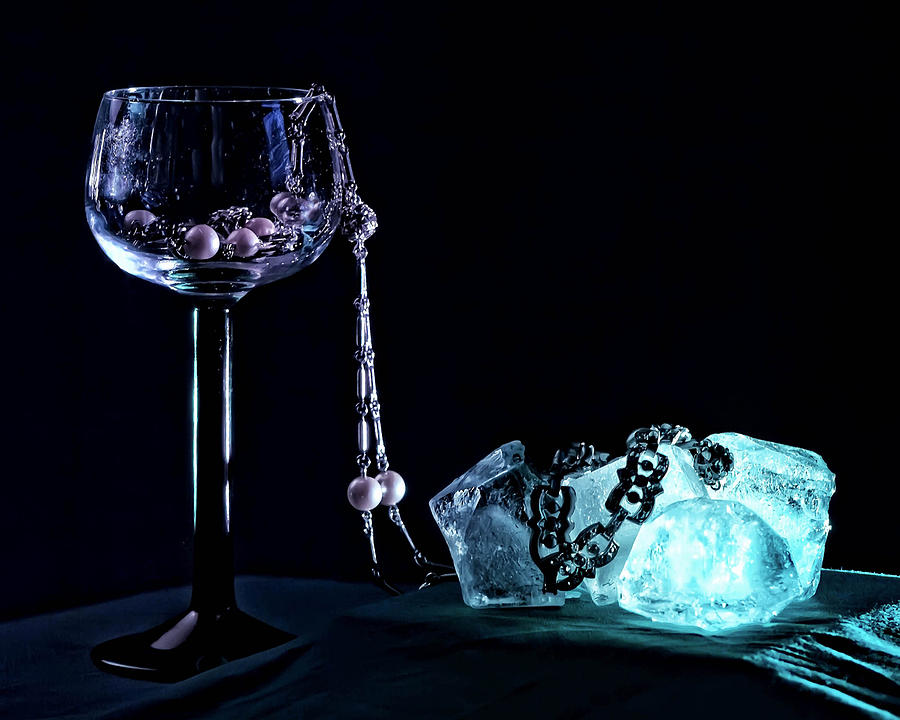 Goblet Photograph - Ice by Camille Lopez