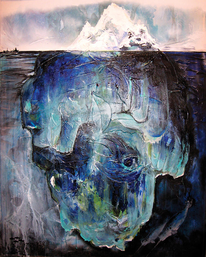 Iceberg Painting - Iceberg by Tanya Kimberly Orme