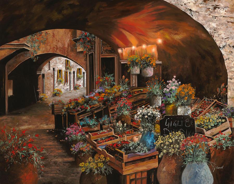 Il Mercato Dei Fiori Painting