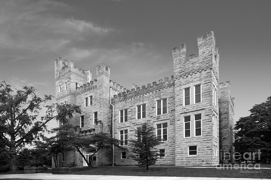 Altgeld Photograph - Illinois State University Cook Hall by University Icons