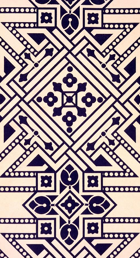 Illustration From Studies In Design Tapestry - Textile