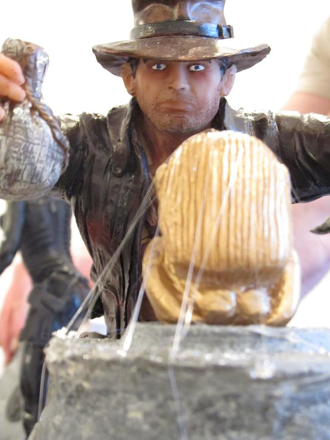 Indiana Jones Sculpture