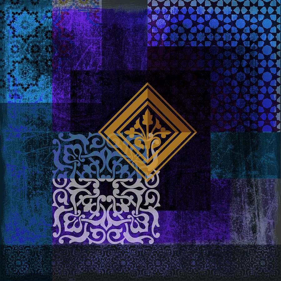 Islamic Motives Painting By Corporate Art Task Force
