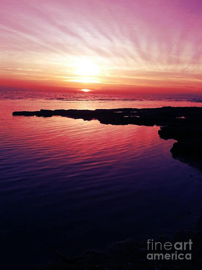 Italian Bold Sunset Photograph By Emanuela Carratoni