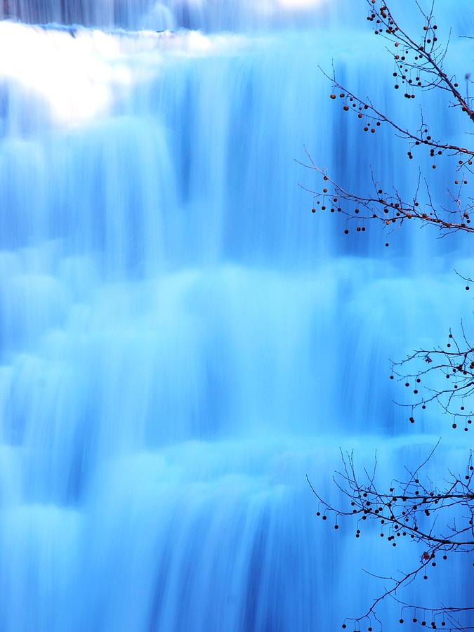 Ithaca Water Falls New York  Photograph