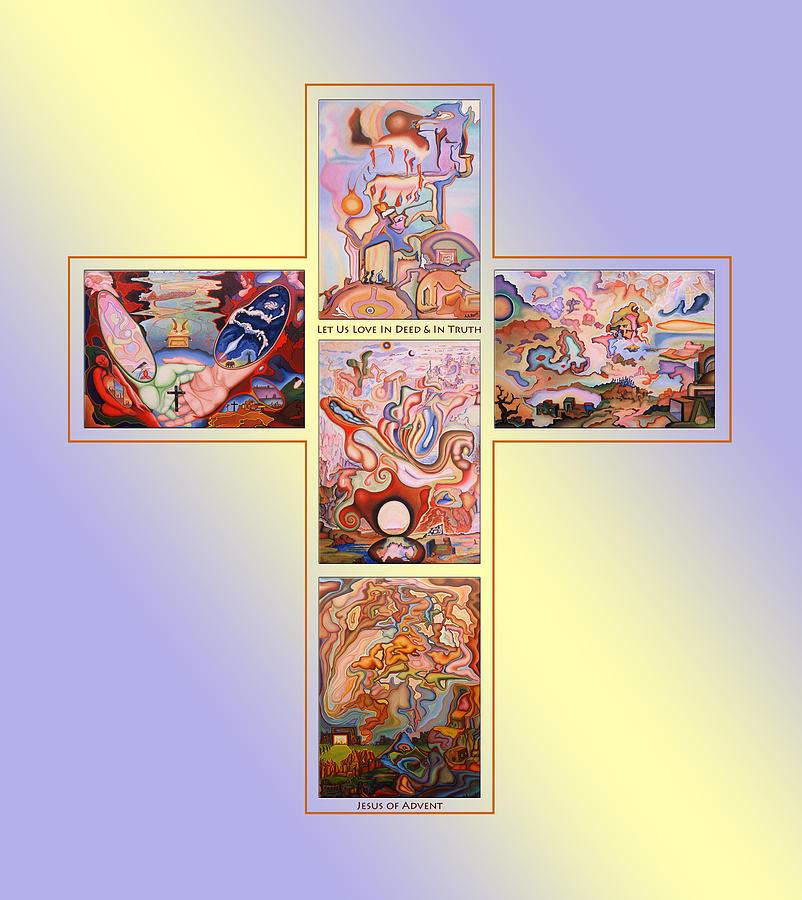Jesus Of Advent B Y Painting