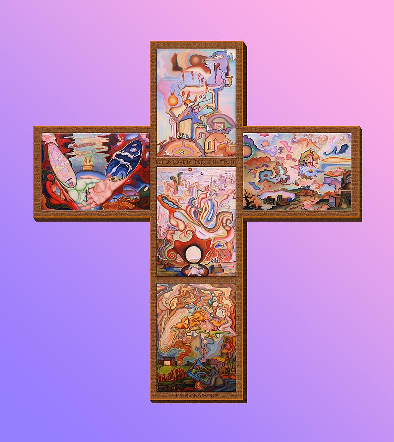 Jesus Of Advent L P M Painting