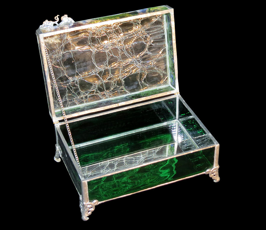 Jewelry Box Glass Art