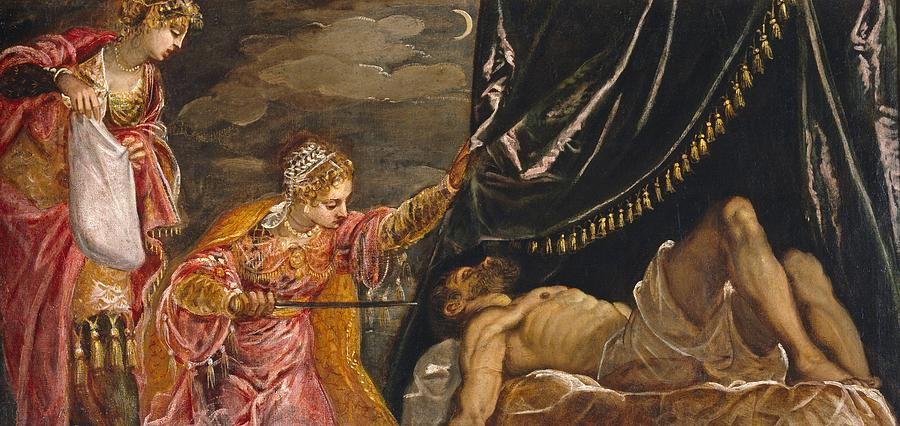 Judith And Holofernes Painting by Tintoretto