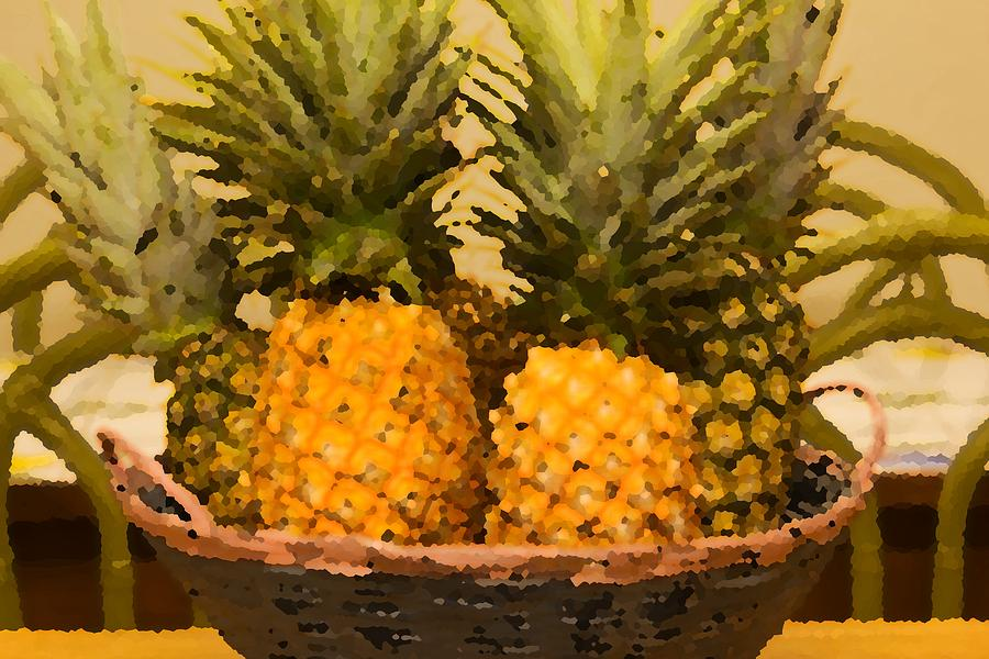 Juicy Pineapples Photograph  - Juicy Pineapples Fine Art Print