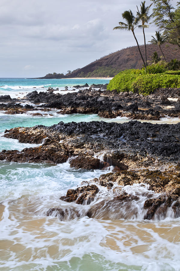 Keanae Lava Rock Photograph