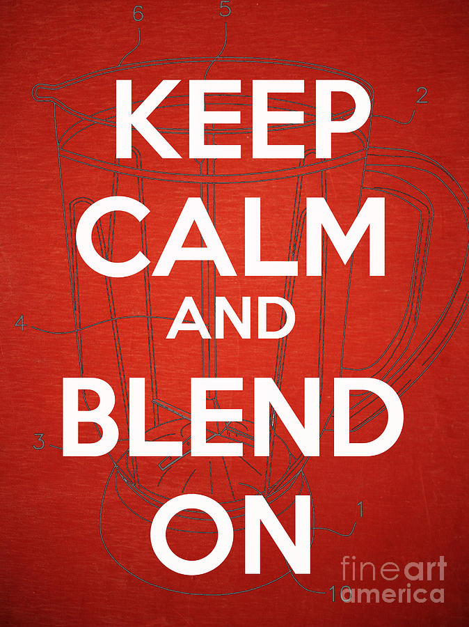 Keep Calm And Blend On Photograph  - Keep Calm And Blend On Fine Art Print