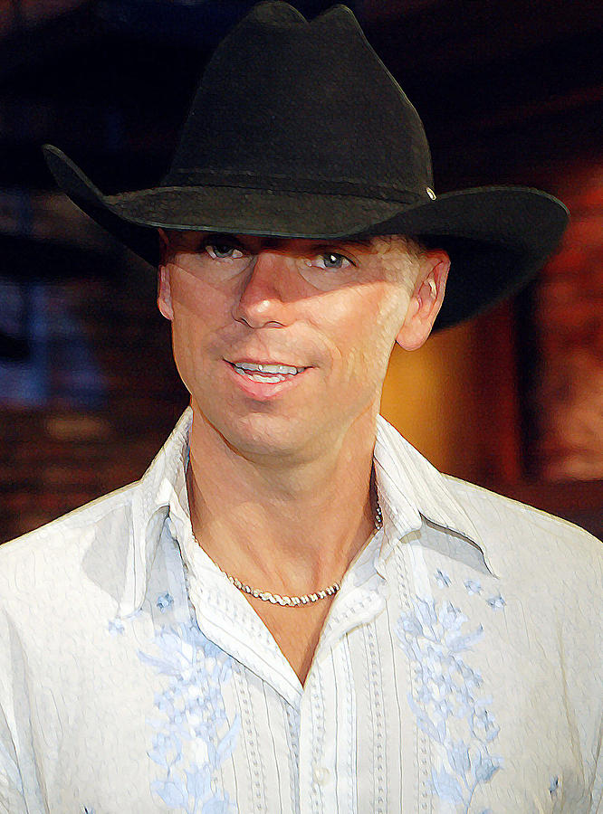 Don Olea Photograph - Kenny Chesney by Don Olea