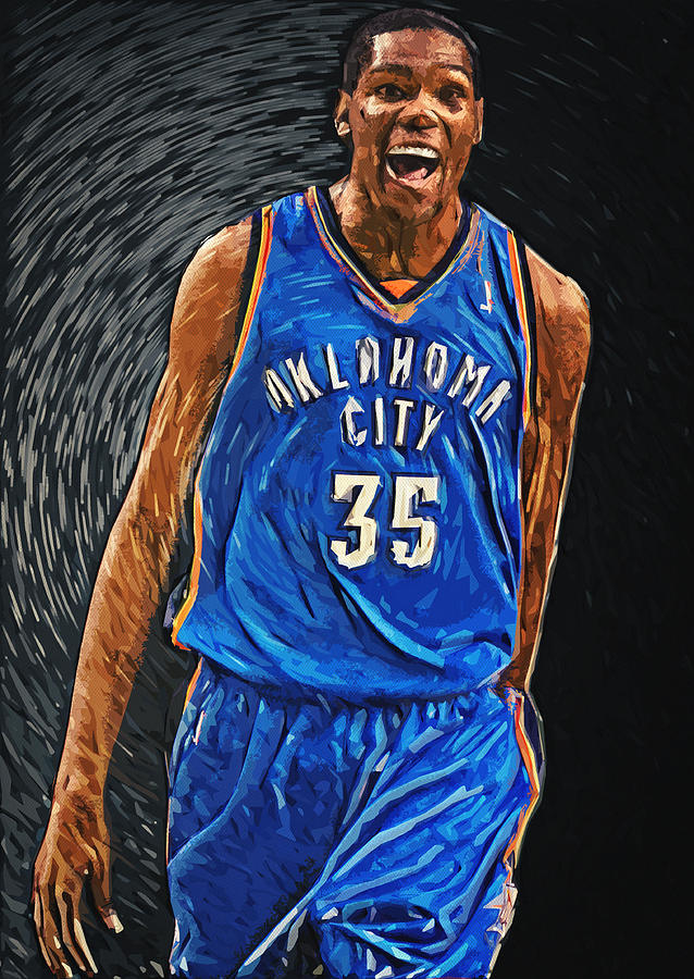 Kevin Durant Digital Art
