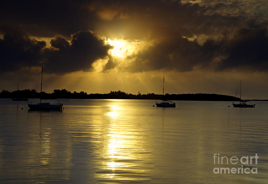 Keys Sunset IIi Photograph  - Keys Sunset IIi Fine Art Print