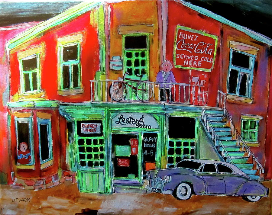 Lachine Bistro Painting