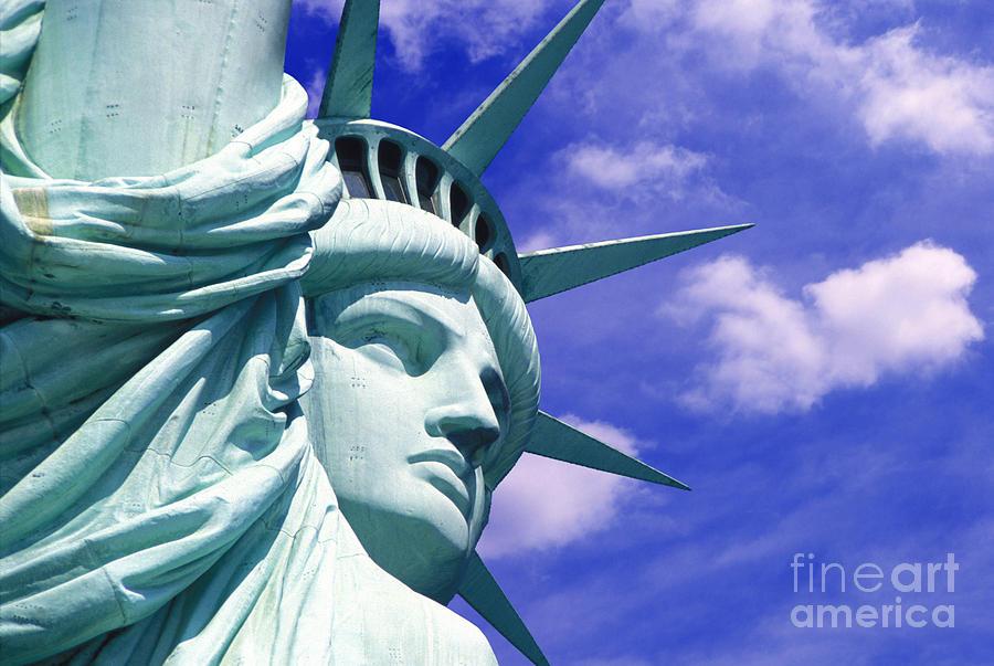 Lady Liberty Mixed Media