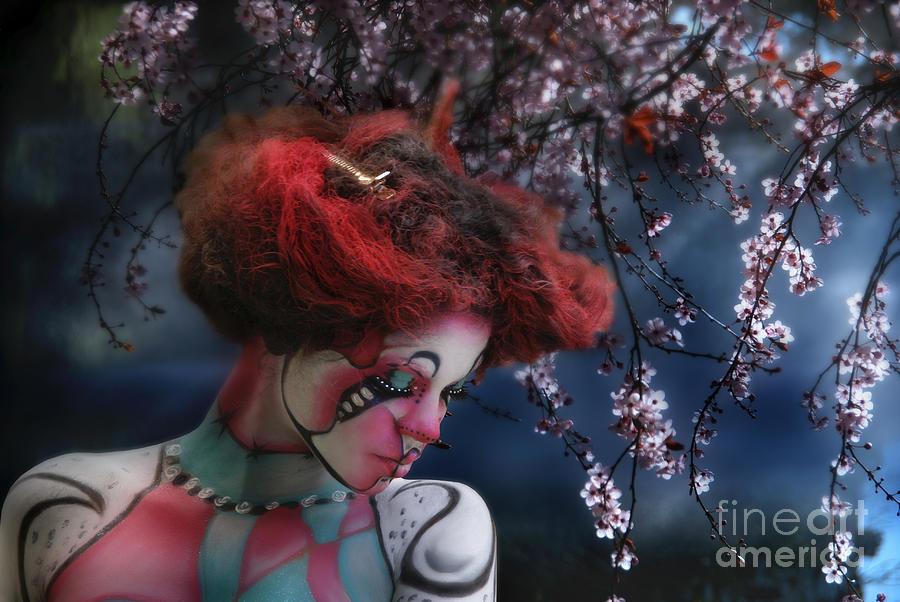 Lady Spring Silence Digital Art