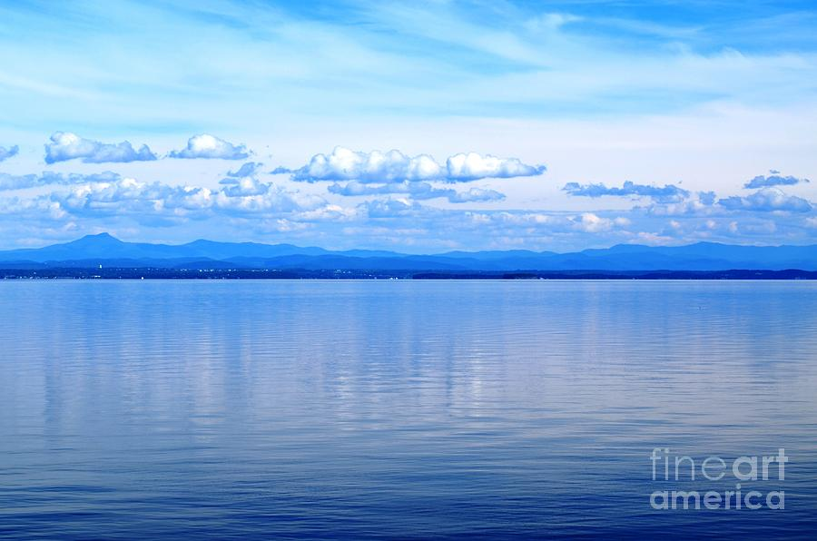 Lake Champlain 9 Photograph  - Lake Champlain 9 Fine Art Print