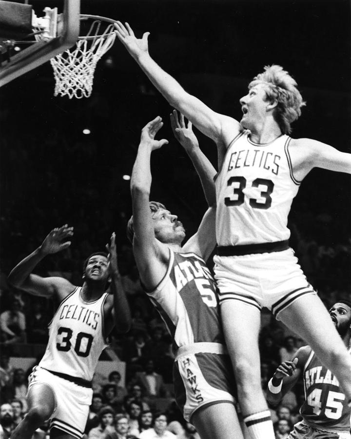 Larry Bird Photograph