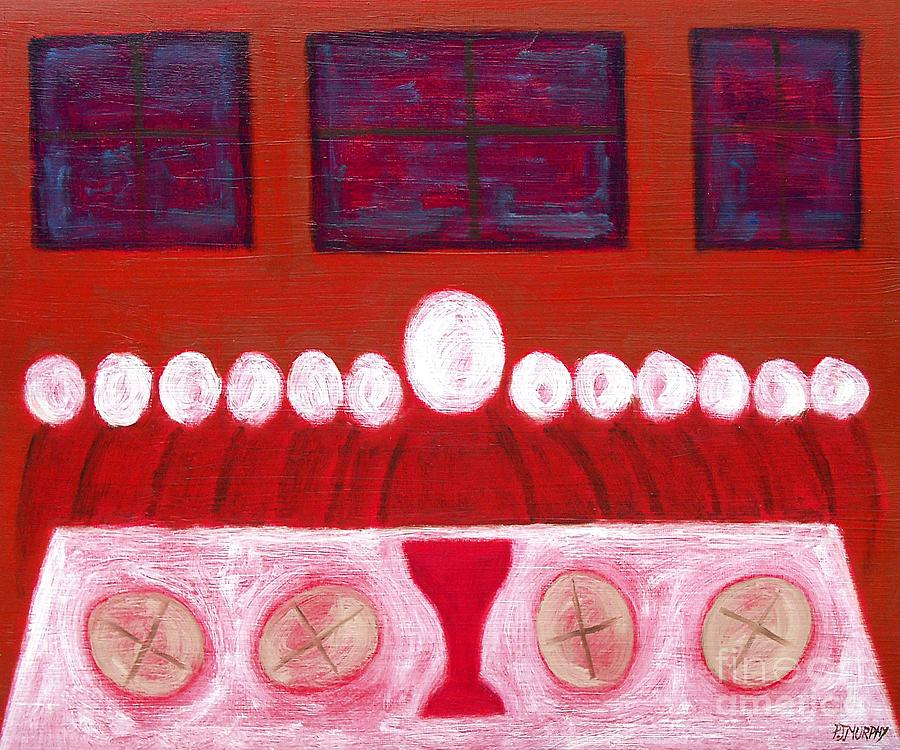 Last Supper Painting  - Last Supper Fine Art Print