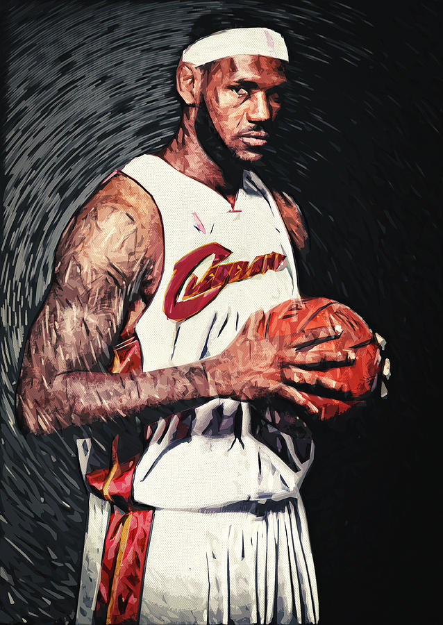 Lebron James Digital Art