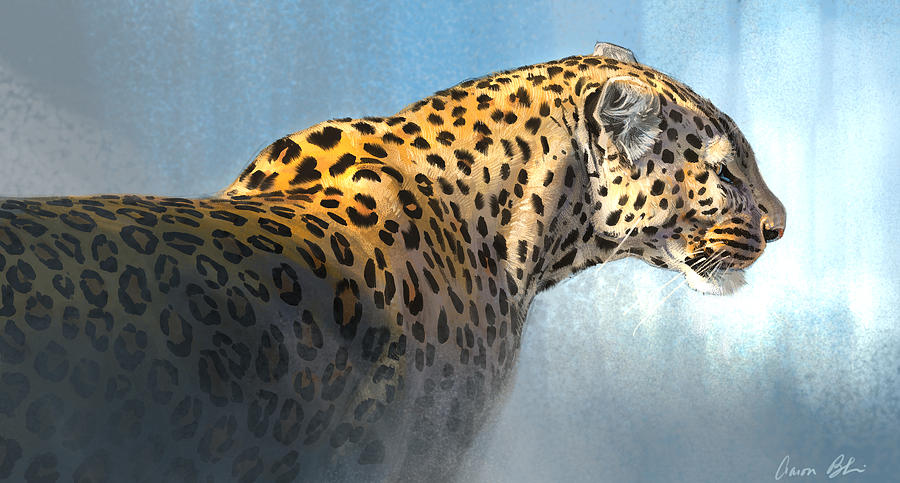 Leopard Digital Art