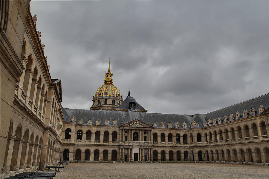 Les Invalides - Paris France - 011318 Photograph  - Les Invalides - Paris France - 011318 Fine Art Print