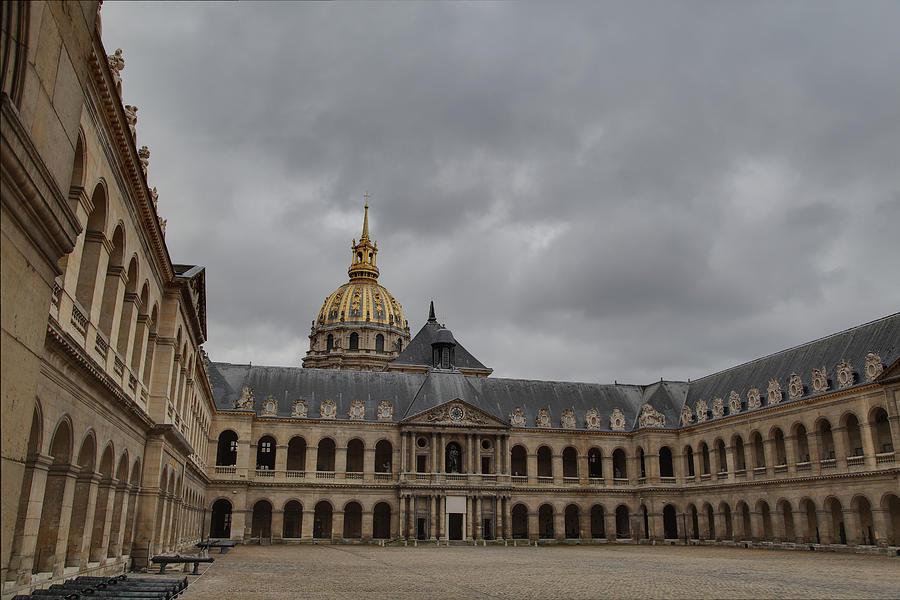 Les Invalides - Paris France - 011318 Photograph