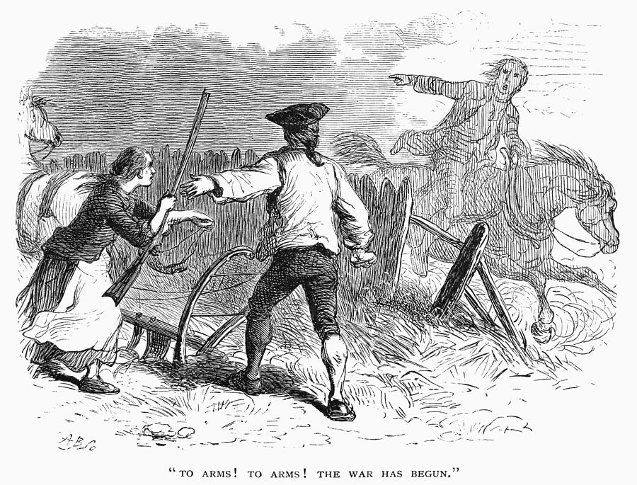 Lexington: Minutemen, 1775 Photograph