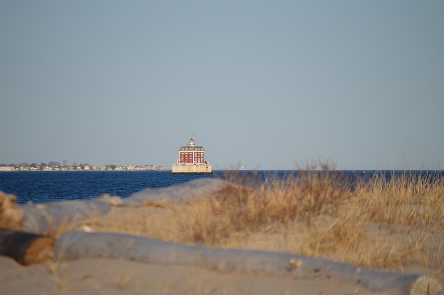 Ledge Light Photograph - Lighthouse  by Jessica Cruz