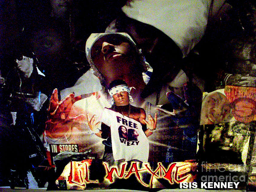 Lil Wayne The Last Hot Boy Mixed Media