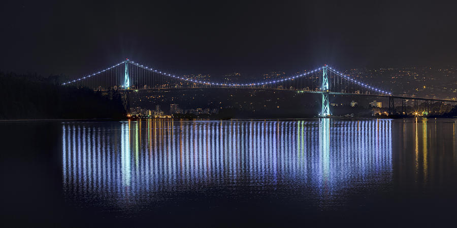 Lions Gate Bridge Photograph