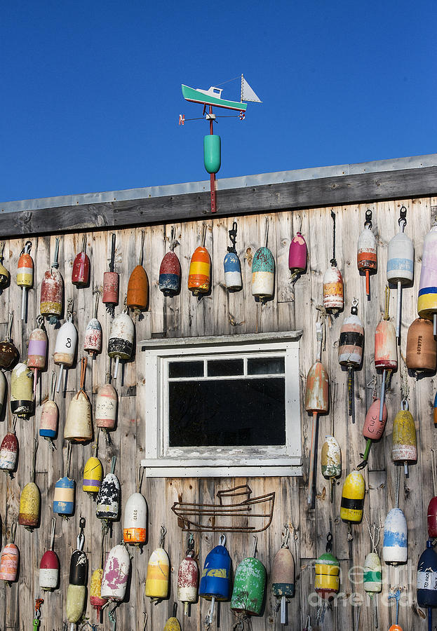 Lobster Shack Buoys Photograph