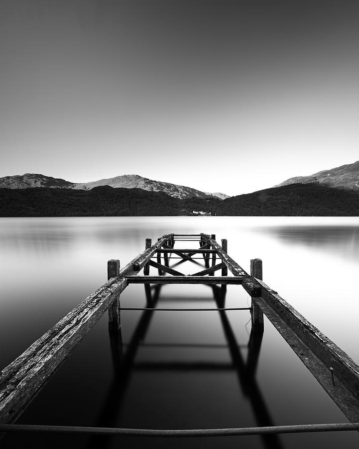 Loch Lomond Jetty Photograph