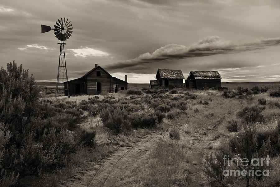 Lonely House On The Prairie Photograph