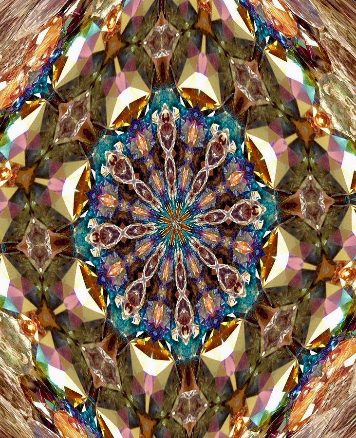 Looking Into The Kaleidoscope  Photograph  - Looking Into The Kaleidoscope  Fine Art Print