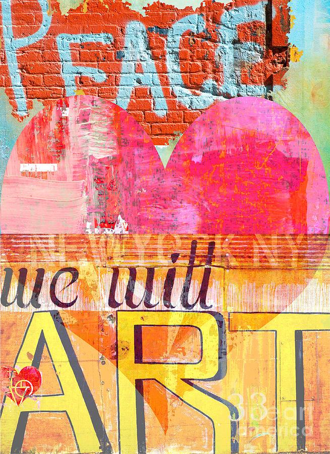 Love Peace Art Digital Art