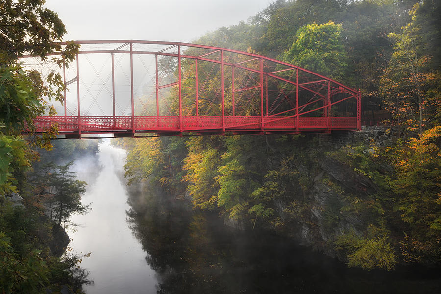 Lovers Leap Photograph - Lovers Leap Bridge by Bill Wakeley